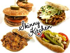 12 Delectably Skinny Foods for Super Bowl! Make this the best Super Bowl gathering ever with these super yummy, easy to make, winning recipes for sliders, hot dogs, sloppy Joe's, coleslaw, baked beans and much more. And best of all, they are all skinny!  http://www.skinnykitchen.com/recipes/12-delectably-skinny-foods-for-super-bowl/