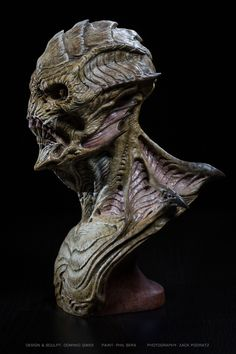 Gillman: a 3D print of Dominic's creature art.