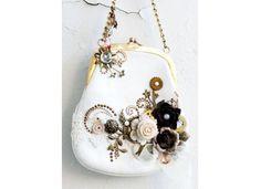 Adorned purse.