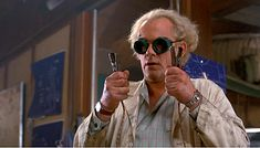 Doc Emmett Brown - Back To The future