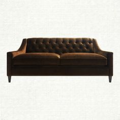 View the Hathaway Sofa from Arhaus. Hathaway is a best in its class—mid-century modern seating and yet another testament to tufting and our love of i