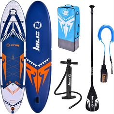A classic allround board. The perfect choice for the beginning of the adventure with SUP. It is great for paddling on lakes, rivers and small waves. It also works well when practicing yoga on the water. Drop-Stitch technology allows the board to maintain shape and excellent stiffness. In the set you will receive a set of accessories necessary to go on the water - paddle, backpack and pump. Inflatable Sup, Unisex, Paddle Boarding, Stand Up, Skateboard, Cool Things To Buy, Adventure, Waves, Classic
