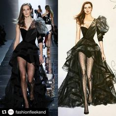 107 個讚,1 則留言 - Instagram 上的 NataliaZ.Liu(@nataliazorinliu):「 #fashion #fashionillustration #balmain #paris #spring #2017 #rtw #collection #readytowear #look #56… 」