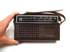 Items similar to Vintage Radio, Portable Soviet Transistor Radio, USSR radio on Etsy Cool Vintage, Retro Vintage, Cb Microphone, Pocket Radio, Retro Radios, Transistor Radio, Retro Futuristic, Cute Little Things, Historia