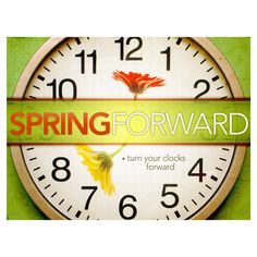 "Daylight Saving Time is Upon Us!   Daylight saving time 2015 will begin on Sunday, March 8 at 2:00 a.m. That means it's time to spring forward!  The catchy phrase ""spring ahead"" signals change. It's a reminder to move clocks ahead one hour for daylight savings time.  Take a few minutes to test the batteries in their smoke alarms and carbon monoxide alarms and make sure they work and replace batteries as needed.  #DaylightSavingTime"