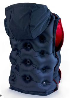 Snug Vest™ invented by Lisa Fraser  is an inflatable vest for providing Deep Pressure Therapy. Firm pressure to the torso helps to relieve anxiety as well as increase focus and attention, and is especially effective for individuals with high levels of anxiety, stress, or with sensory disorders.