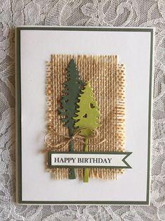 Cards For Men Handmade, Handmade Birthday Cards, Greeting Cards Handmade, Birthday Cards For Men, Cricut Birthday Cards, Homemade Greeting Cards, Male Birthday, Winter Cards, Fall Cards