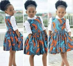 African Print Kid's Dress – Kid's Full Flared Dress- Ankara Print – Ankara Dress – Handmade – Africa Clothing – African Fashion – Mahiber Ankara Styles For Kids, African Dresses For Kids, African Children, Latest African Fashion Dresses, African Print Dresses, African Print Fashion, Africa Fashion, Ankara Fashion, African Babies
