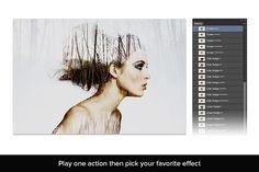 Double Exposure Kit by SparkleStock on @creativemarket