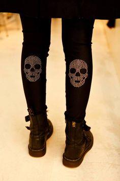 #skulls #fashion #edgy #punk