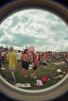 eye of the festival go'er