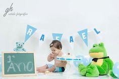 Fotografia bebê Newborn lifestyle smash the cake