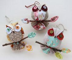 Owl Ornaments!