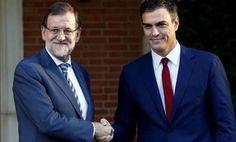 ÚLTIMA HORA: Rajoy y Pedro Sánchez llegan a un primer acuerdo para convocar elecciones en Cataluña