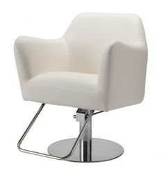 The Evoque Styling Chair in White