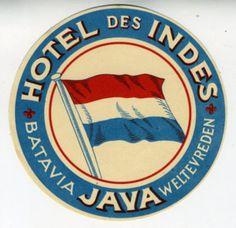 Hotel des Indes, Java