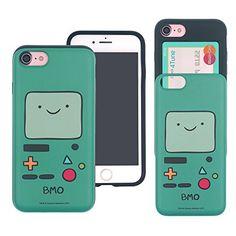iPhone 8 / iPhone 7 Case Adventure Time Cute Slim Slider ...