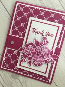 Stampin' Up! handmade card using Fresh Florals