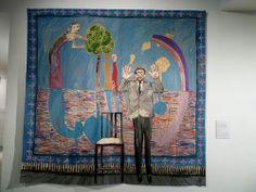 David Hockney tapestry Dovecot Studios