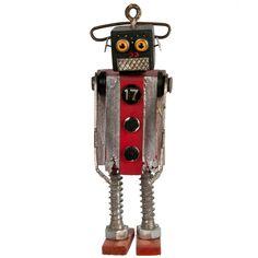 Fab.com | Folk Art Robot #848 Beamer