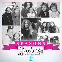 Season's #Greetings from our myFace #family to yours! #seasonsgreetings #happyholidays