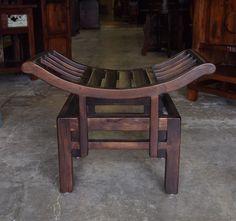 hand carved indonesian teak sofa style bench www gadogado com gado