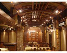 #Restaurante Asador de Aranda Tibidabo,#Barcelona #ceilings http://www.ruartecontract.com/Asador-de-aranda-tibidabo-p16 #carpentry