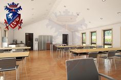 Timber Frame Insulated Classrooms, www.lv the number one in the UK. About Uk, Classroom, Number, Frame, Building, Table, Furniture, Home Decor, Homemade Home Decor