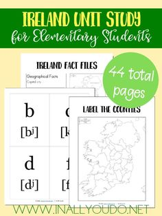 936 best homeschool geography images on pinterest home school its never too early to start learning world geography this ireland unit study covers the fandeluxe Gallery