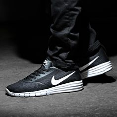 Just Do It - The Nike Paul Rodriguez 9 R/R Trainer is now available in Black and White!