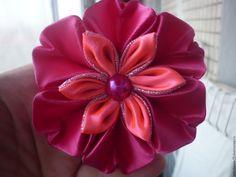 """Купить Резиночка """"Цветок"""" - комбинированный, Праздник, праздничное украшение, нарядное украшение, повседневное украшение"""
