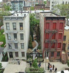 Abandoned alley gets a landscape design transformation.   -The LA Team  www.landarchs.com