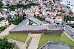 Bobotis+Bobotis Architects Private Sector, Futuristic Architecture, Bucharest, Under Construction, Outdoor Furniture, Outdoor Decor, The Expanse, Athens, Sun Lounger