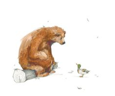 09aBear Erin Stead illustration