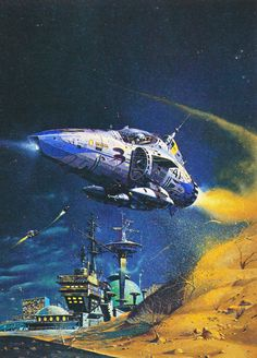 Peter Jones - The Imperial Stars (1975) from his retrospective art book Solar Wind (1980)