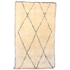 Large Ben Ourain Area Rug 1