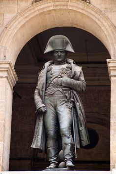 """"""" – Napoleon Words of wisdom from a short guy with a funny hat. No wonder he had an ulce… Empire, Funny Hats, I Love Paris, Statue, Embedded Image Permalink, Napoleon, Sculpture Art, Famous People, Dc Comics"""