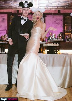 American Idol's Colton Dixon and Annie Goggeshall's wedding photos (dress: Monique Lhuillier)