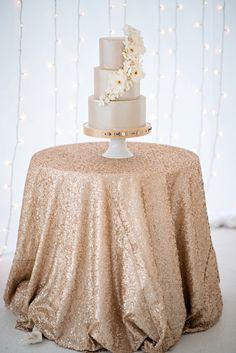 shimmering gold silver and cream wedding color inspiration | via junebugweddings.com