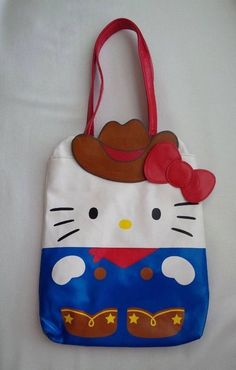 Sanrio HELLO KITTY Cowgirl Mini Tote Bag Sanrio Hello Kitty 629d995601ac5