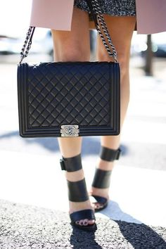 Chanel + those shoes!