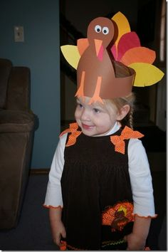 Simple Thanksgiving Costumes for Kids