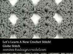 Globe Stitch Let's L