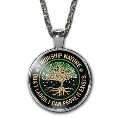 I Worship Nature Necklace