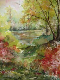 Arkansas Springtime Painting