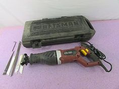 Chicago Electric 69607 7.5 AMP Reciprocating Saw With Craftsman Case