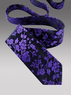 BERRYMOUNT FLORAL TIE | Floral | Ties | Duchamp London