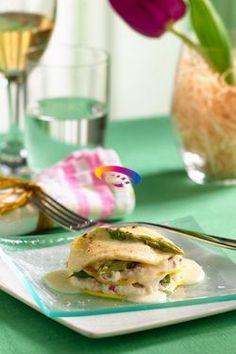 Crespelle con ricotta e asparagi | Cucinare Meglio