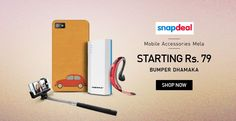Bumper Dhamaka!!! Mobile Accessories Mela Starting At Rs.79/- Hurry For more deals @ http://goosedeals.com/home/details/snapdeal/119192.html