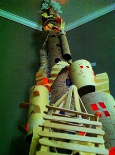 How to make a Tower of Babel Bible craft for kids